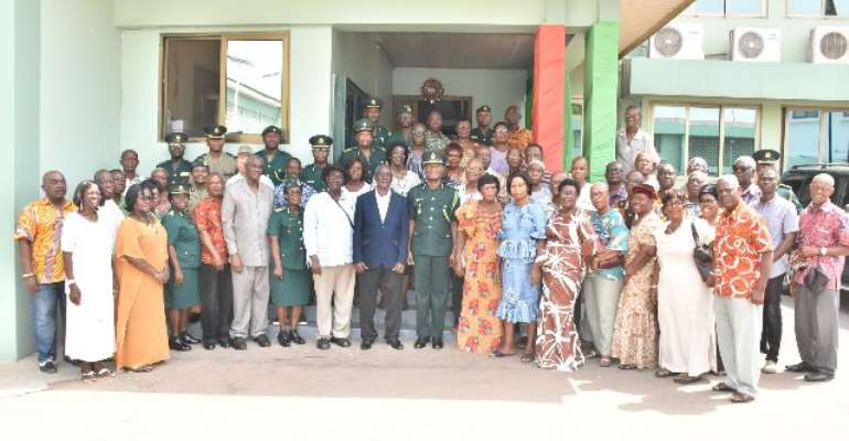 New Executives Of Retired Immigration Officers Inducted