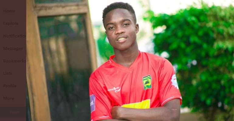 Matthew Cudjoe Delighted With First Goal For Kotoko