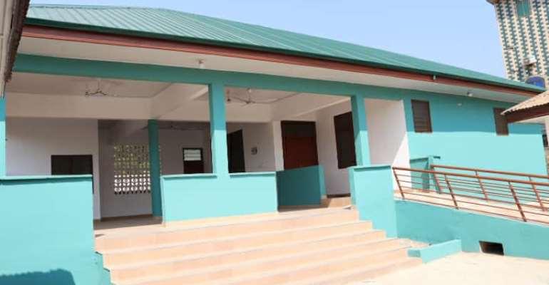 Weija-Gbawe Municipal Commissions Six Bed Maternity Block at Oblogo