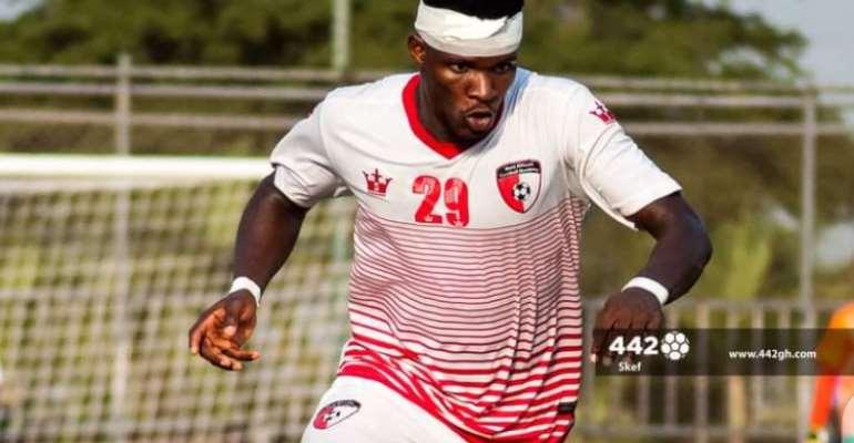 Ghanaian forward Daniel Lomotey