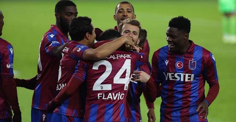 Caleb Ekuban registers assist to help Trabzonspor defeat Konyaspor 3-1