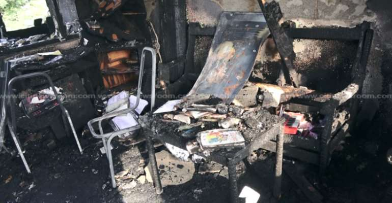 Fire Service Probes Army Officers' Mess Inferno