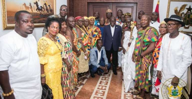 Set Up Special Concessionary Fund For UHAS Hohoe Campus — Fodome Chief To Gov't