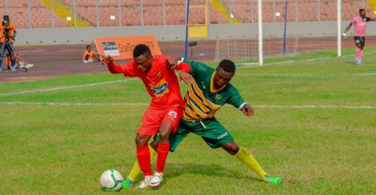 VIDEO: Watch How Asante Kotoko Defeated Ebusua Dwarfs 2-0 In The GPL