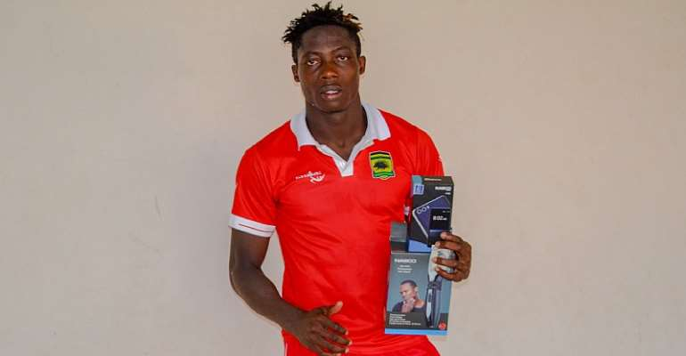 Justice Blay Adjudged Nasco MoTM In Kotoko's 2-0 Win Against Dwarfs