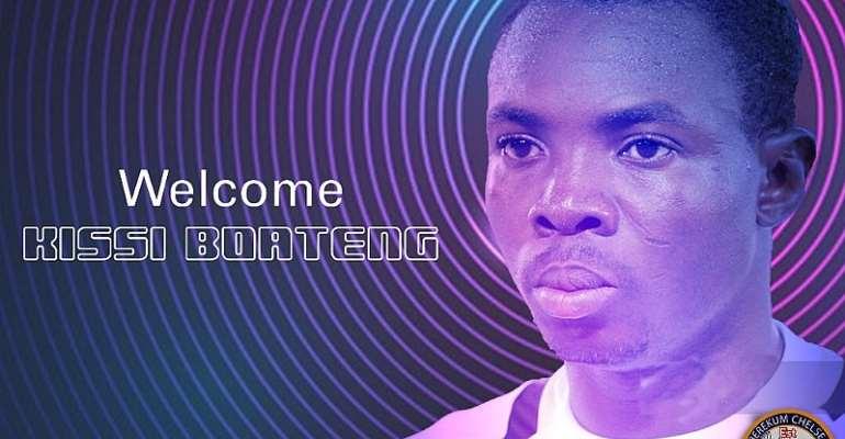 OFFICIAL: Berekum Chelsea Sign Experience Left-Back Richard Kissi Boateng