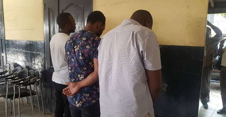Ghana Police Arrest Three Tanzanians For Breaking Into Vehicles