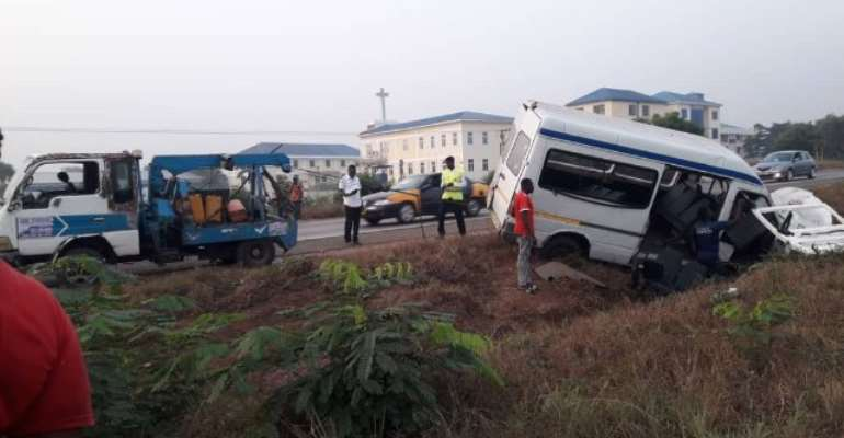 Several Injured In Motorway Accident Today
