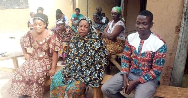 Some of the family members of 35-year-old Aremeyaw Nasigri who spoke to Joy News.