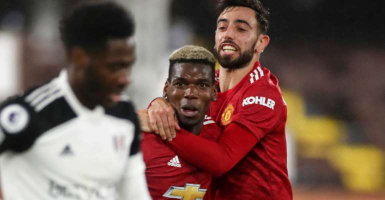 PL: Pogba fires Man Utd back to top with stunning winner against Fulham