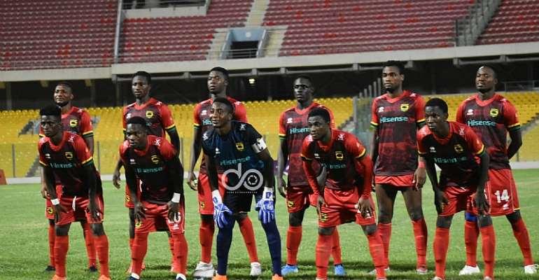 GHPL: In-form striker Kwame Opoku starts for Asante Kotoko against Ebusua Dwarfs