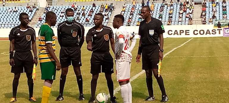 GHPL: Kotoko leapfrogs Hearts of Oak to go third after beating Dwarfs 1-0