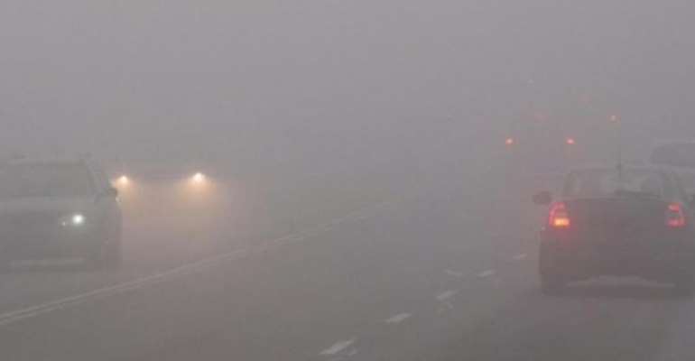 Drivers should be careful in misty weather — Meteo warns