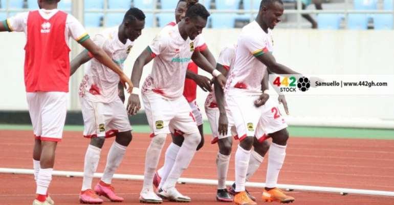GHPL: Watch highlights of Asante Kotoko's 1-0 win against Ebusua Dwarfs [VIDEO]