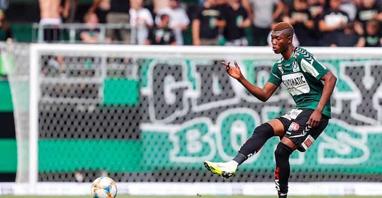 SV Ried Defender Kennedy Boateng Sure Of Black Stars Call Up