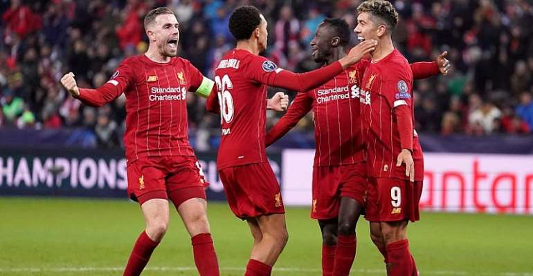 CL: Liverpool Beat Salzburg To Progress As Group Winners
