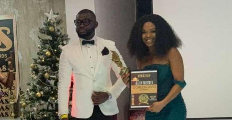 Adom FM, Doreen Avio, Sammy Flex, Others Win Big At Nollywood Entertainment And Leadership Awards