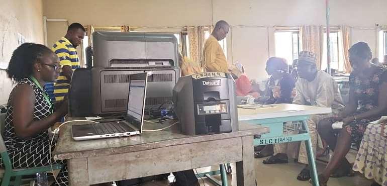 Ghana Card Registration Begins In Kumasi