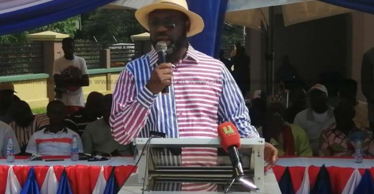 Napo Wants Unity In Manhyia South To Project Constituency
