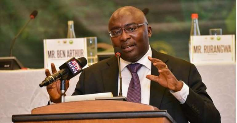 Vice-President Mahamudu Bawumia been at the forefront of the government's digitisation agenda.