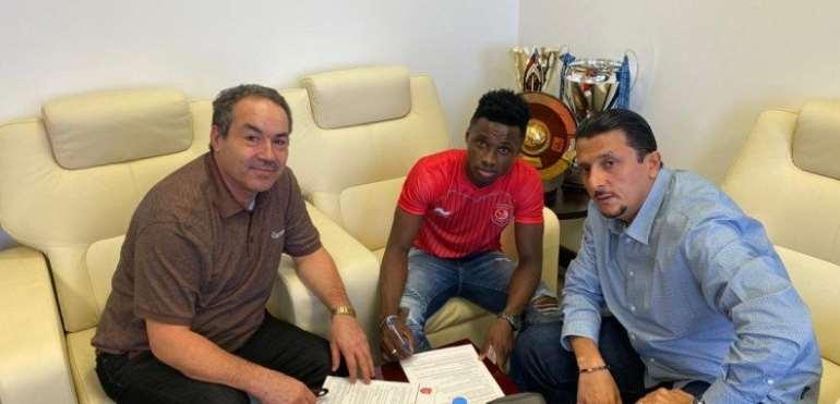 Ghana U-23 Star Evans Mensah Joins Qatari Club Al Duhail