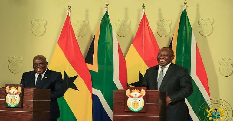 President Akufo-Addo and President Ramaphosa
