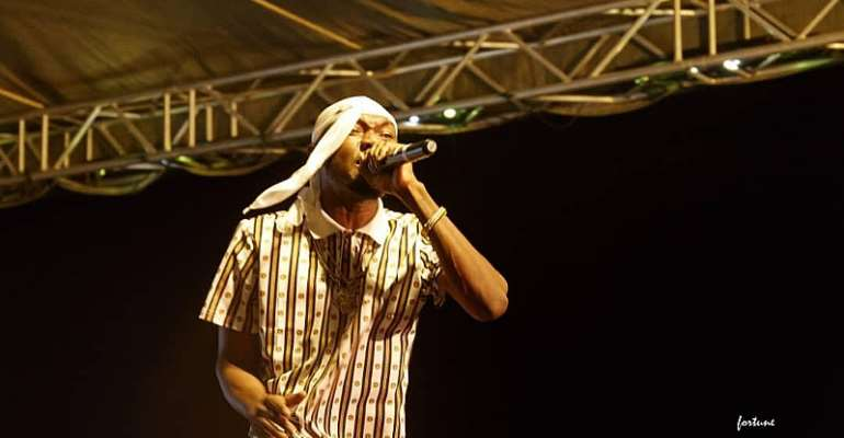 Northern Badboy performs at Cocopine Island Party