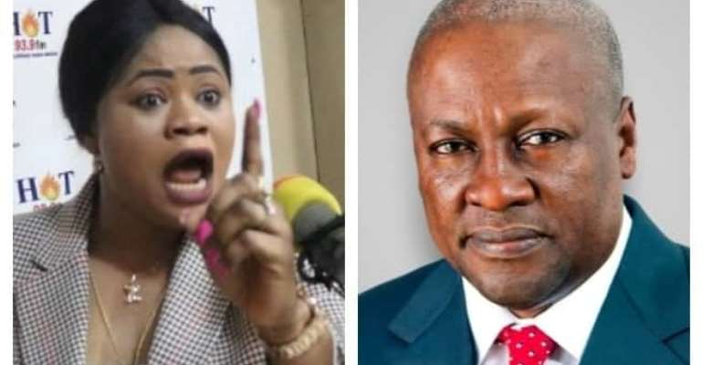 VIDEO: Mahama Told Me I'm More Beautiful,Competent Than His Female Appointees-NPP's Jennifer Queen