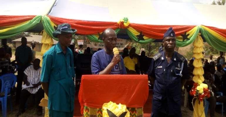 Mr Kena , DCE for Kwahu Afram Plains North
