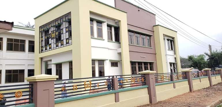 Nat'l House Of Chiefs Building Gets Massive Facelift In Kumasi