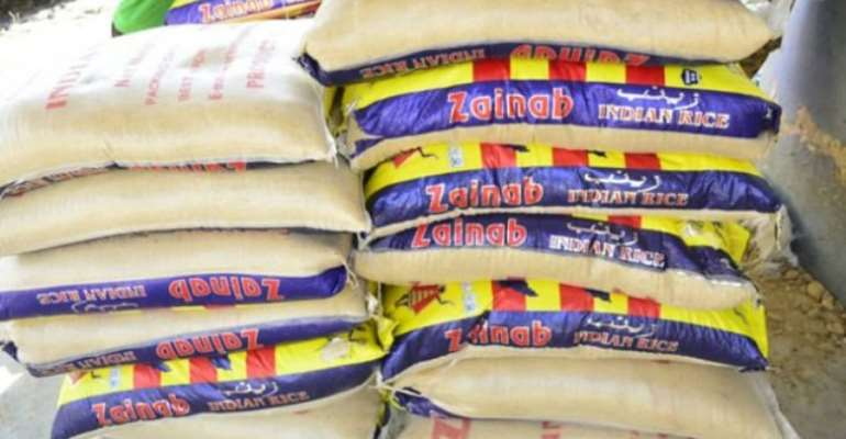 Smuggled Goods Impounded At Balungu Barrier