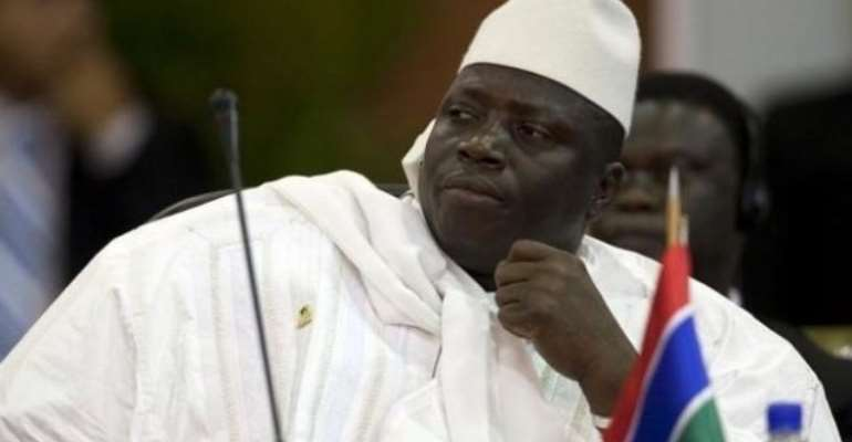 Former President of The Gambia Yahya Jammeh