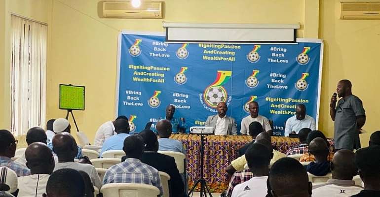 GFA Hold Workshop For Club Coaches Ahead Of Upcoming Season
