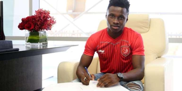 Evans Mensah Joins Qatari Side Al Duhail On Four And Half-Year Deal