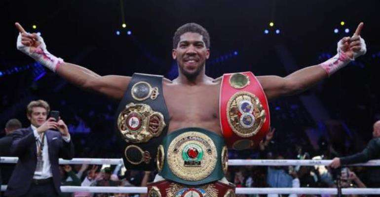 Anthony Joshua Makes History: Becomes A Two-Time Heavyweight Champ After Just 24 Pro Fights