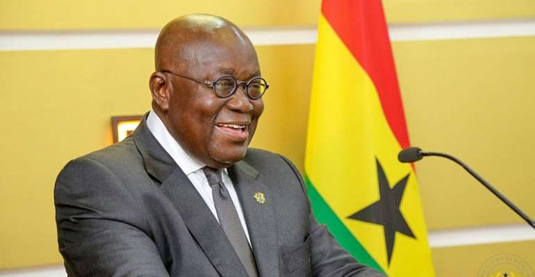 Congratulations to His Excellency Nana Addo Dankwa Akufo-Addo for being re-elected as President for his second term