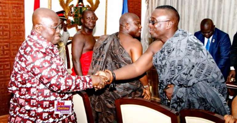KABA Family Officially Informs President Akufo-Addo Of His Death