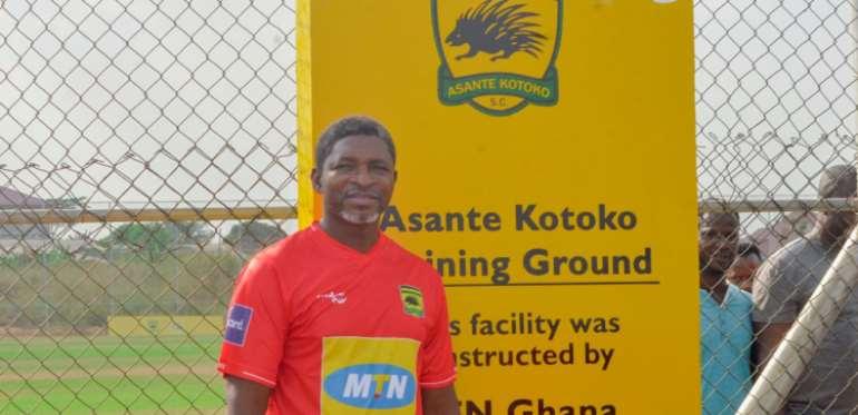 OFFICIAL: Asante Kotoko Unveils Maxwell Konadu As New Head Coach