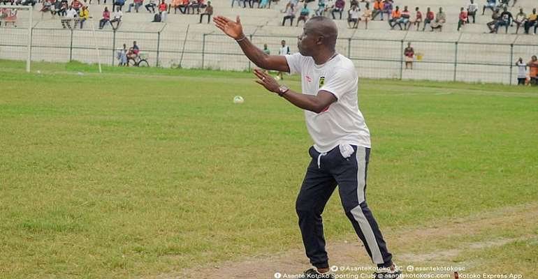 Johnson Smith To Lead Kotoko Against Hearts of Oak In President Cup