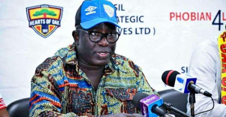 Hearts of Oak Have No Plans To Sack Fredrick Moore - Alhaji Akambi