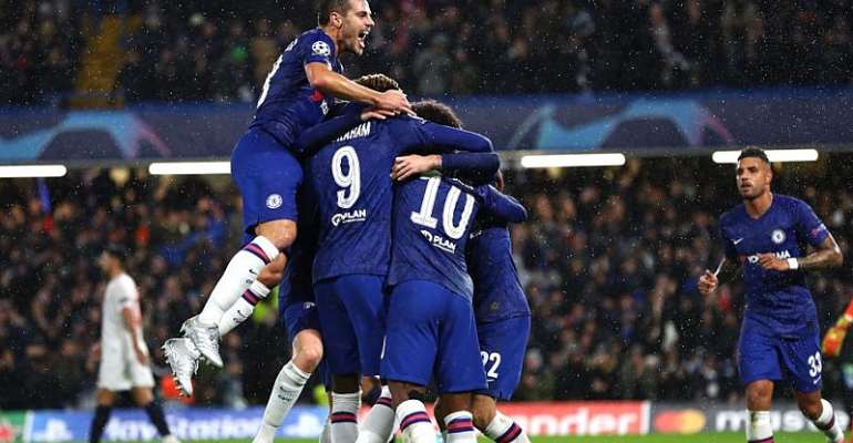 Chelsea Win To Qualify For Champions League Last-16