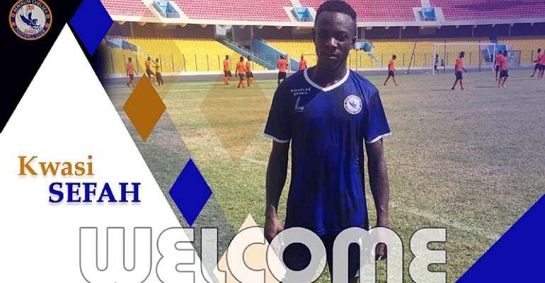 Berekum Chelsea Announce Signing Of Kwesi Sefah From Mighty Royal