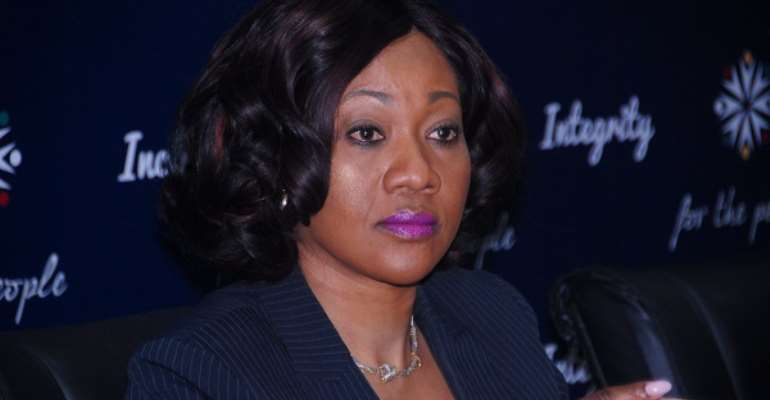 Electoral Commission Chairperson Mrs. Jean Mensah