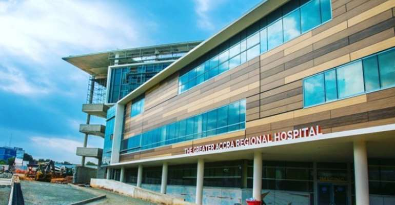 Ridge: Health Supervisors Satisfied With The Quality Of Care At Greater Accra Regional Hospital
