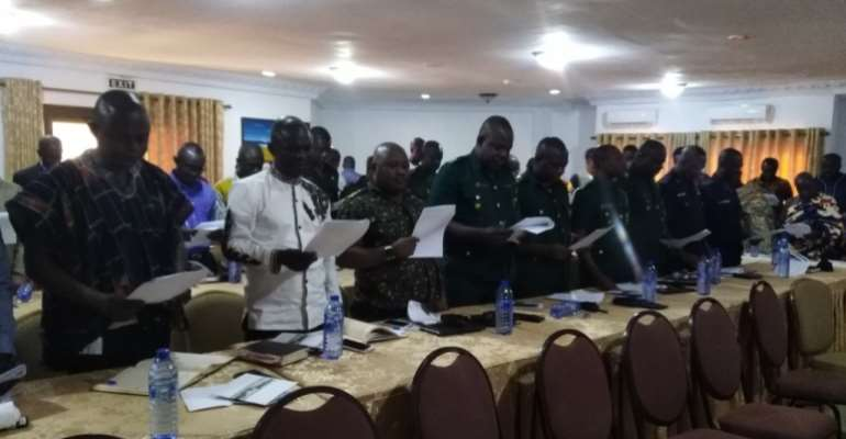 Anti-galamsey Committees For 5 Dictricts