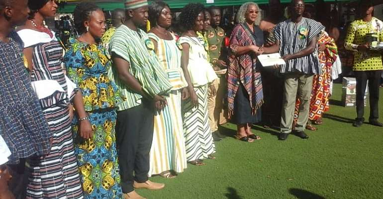 Otumfuo Rewards 130 Rural-Based Teachers