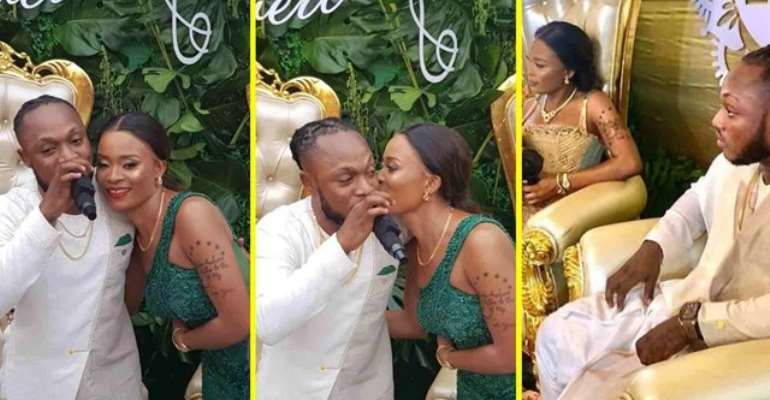 Keche Andrew marries CEO of his label