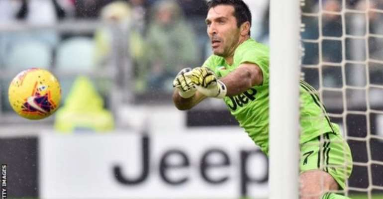 Serie A: Buffon At Fault As Juve Held By Sassuolo