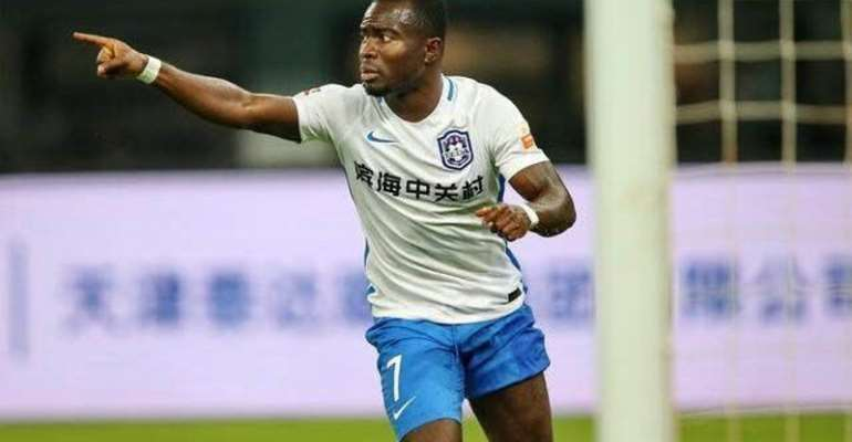 Frank Acheampong Celebrates Another Great Season In Chinese Super League