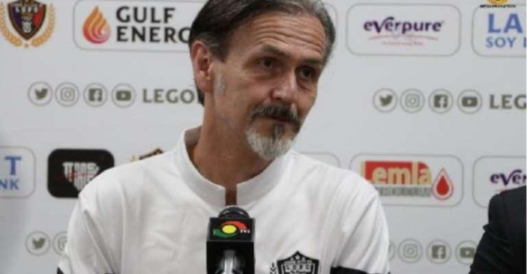 GHPL: Legon Cities FC Coach Reveals Why They Are Struggling